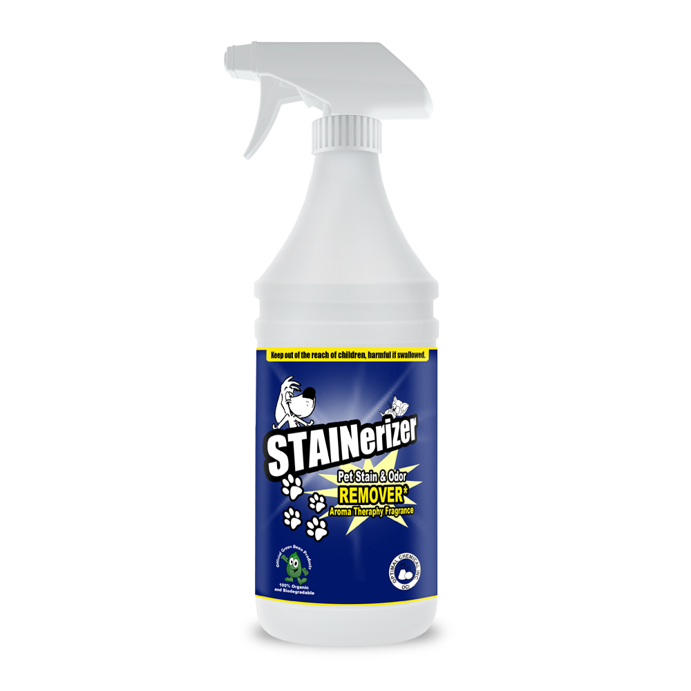 Stainerizer Non-Toxic Pet Stain and Odor Remover, 32 Oz