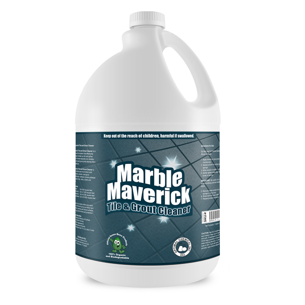 Marble Maverick Organic Tile And Grout Cleaner 1 Gallon
