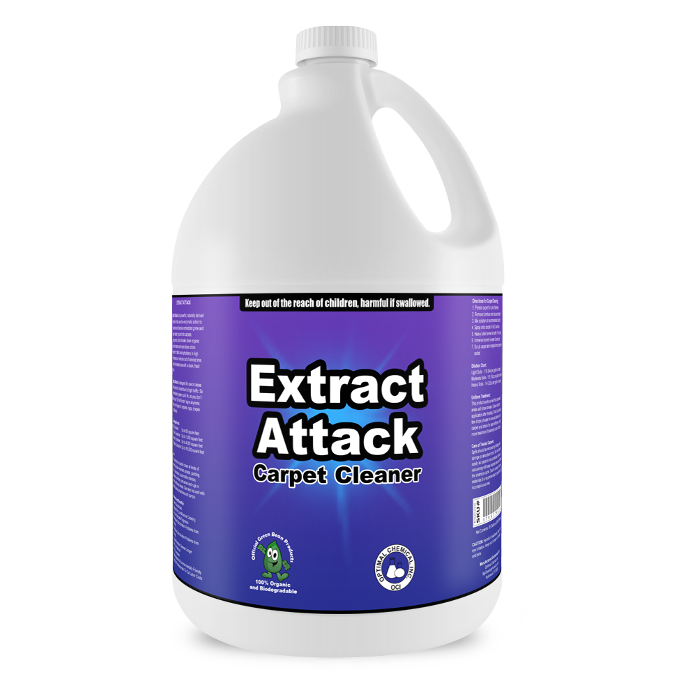 Extract Attack Organic Carpet Cleaner 1 Gallon